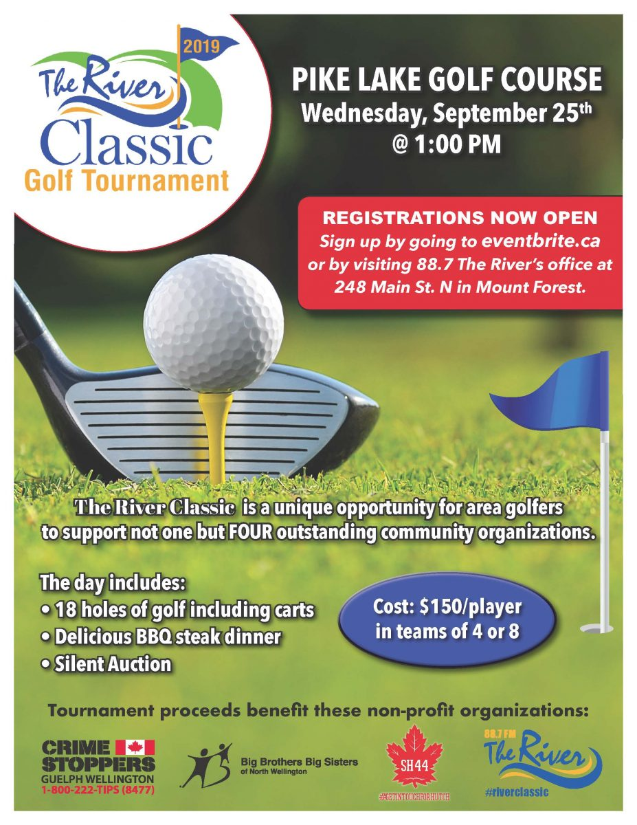 The River Classic Golf Tournament » Crime Stoppers Guelph Wellington