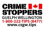 The Crime Stoppers Guelph Wellington logo